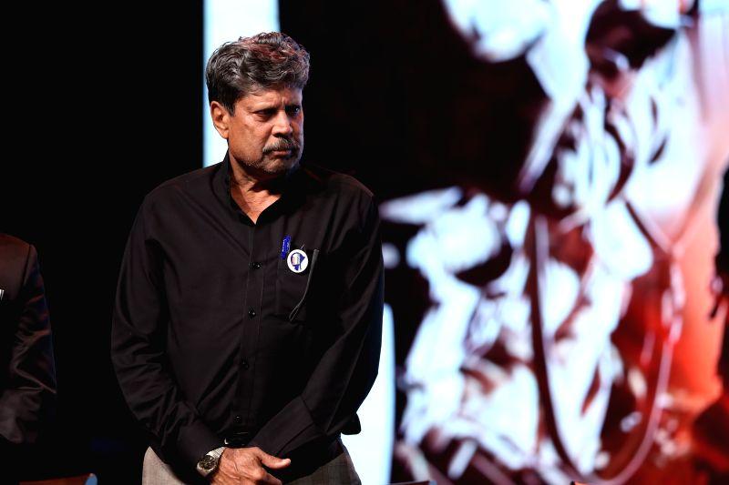 Former India skipper Kapil Dev during a programme in Mumbai on Jan 31, 2018. - Kapil Dev