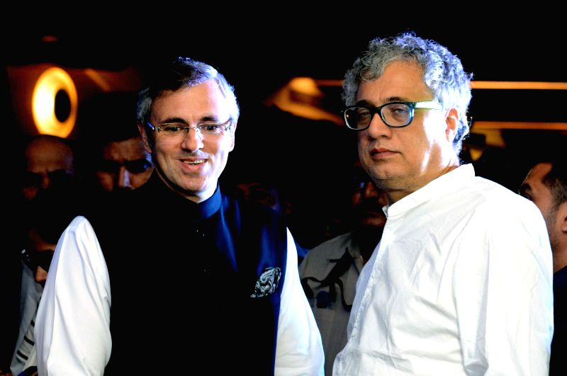 Former Jammu and Kashmir Chief Minister and National Conference leader Omar Abdullah and Trinamool Congress MP Derek O'Brien during 'Think Federal Conclave', in Kolkata on July 28, 2018.