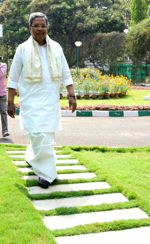 Former Karnataka Chief Minister Siddaramaiah. (File Photo: IANS)