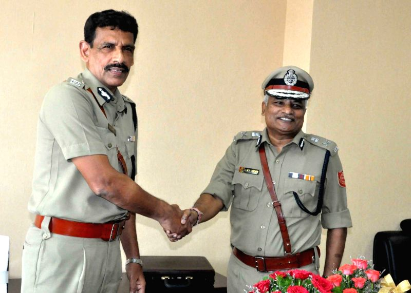 Former Kolkata Police Commissioner Surajit Kar Purkayastha takes charge as West Bengal DGP in Kolkata, on May 31, 2016.