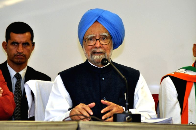 Former Prime Minister and Congress leader Manmohan Singh. (File Photo: IANS)(Image Source: IANS News)