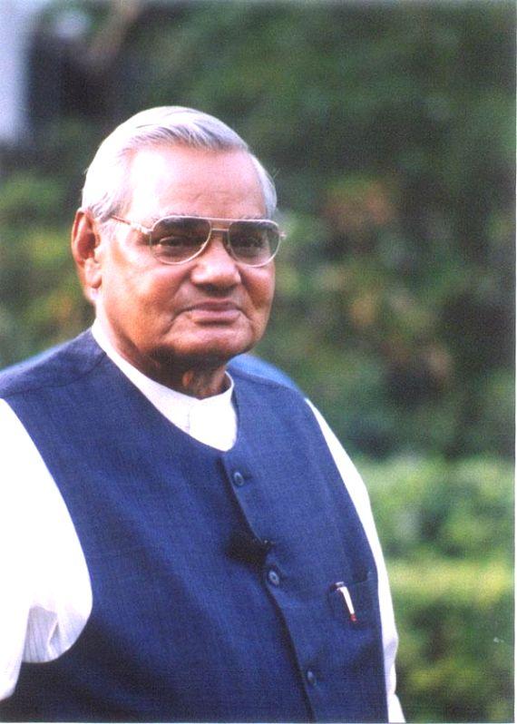 Former Prime Minister Atal Bihari Vajpayee. (File Photo: IANS/BJP) - Atal Bihari Vajpayee