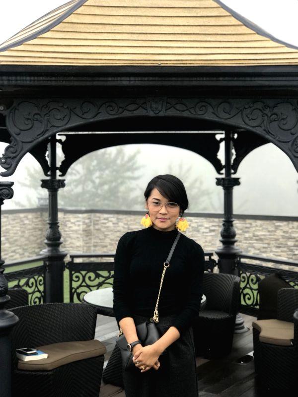 Founder of Fidgety Fingers Devika Gurung