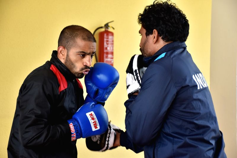 Fourteen elite Indian boxers, including six-time world champion M.C. Marykom, on Monday began preparation for the Boxam International Tournament beginning on Tuesday in Castellon, Spain, with two light training sessions