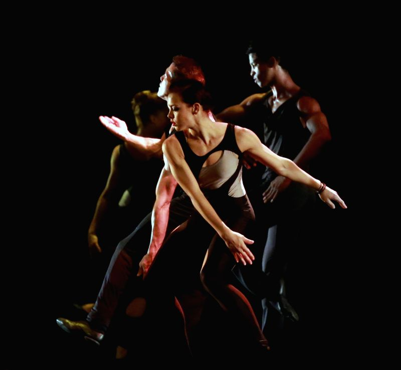 "Dancers perform in ""Ballet Revolution"" at the Old Opera House in Frankfurt, Germany, on April 22, 2014. From December 2013 to August 2014, the Cuban ..."