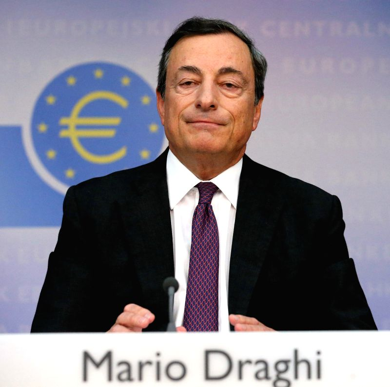 Mario Draghi, President of the European Central Bank (ECB), attends a news conference in Frankfurt, Germany, Sept. 4, 2014. ECB on Thursday decided to cut all the