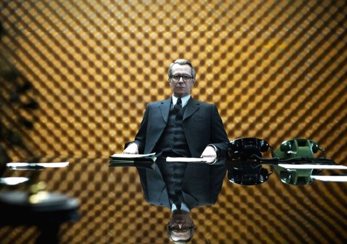 "Gary Oldman  as George Smiley in a recent screen adaptation of ""Tinker, Tailor, Soldier, Spy"