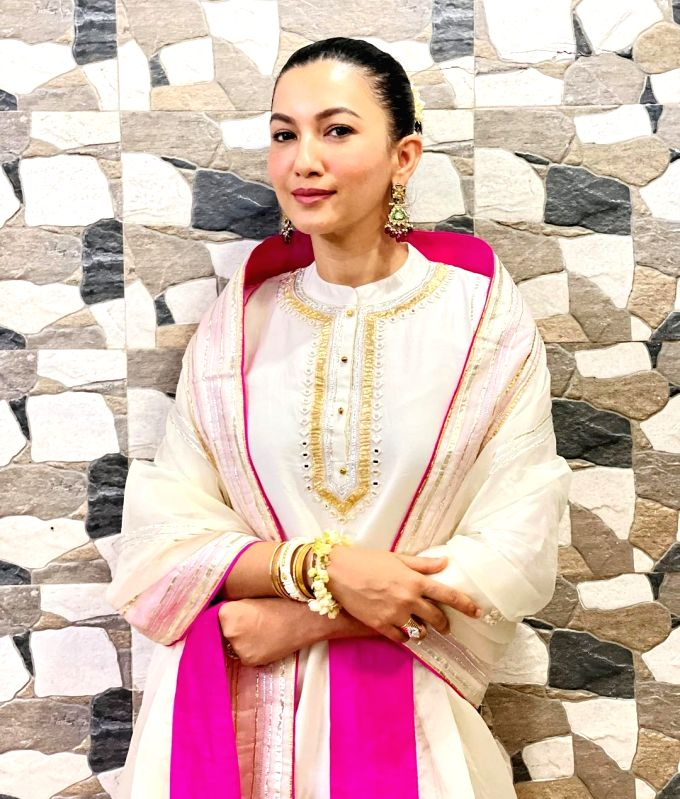 Gauahar Khan: Finally getting time to feel like a newly-wedded bride.