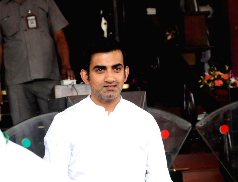 Gautam Gambhir. (Photo: IANS)