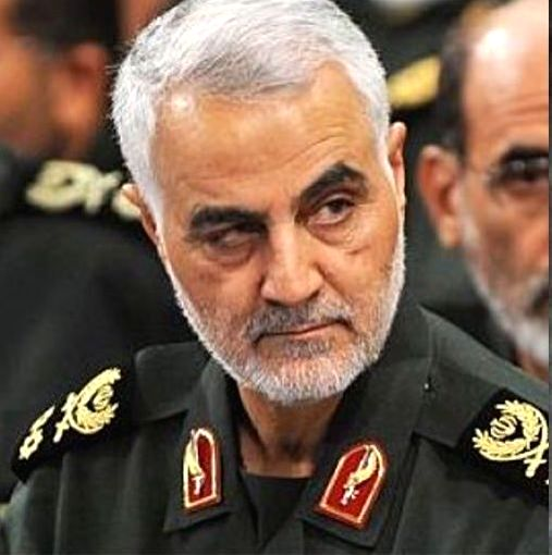 Gen Qassem Soleimani.