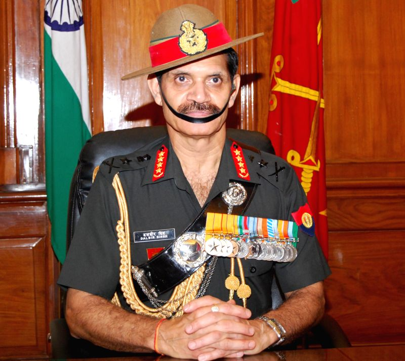 General Dalbir Singh takes over as the Chief of the Army Staff of the Indian Army in New Delhi on July 31, 2014.