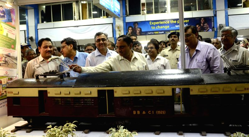 Exhibition Organised At Churchgate Railway Station To