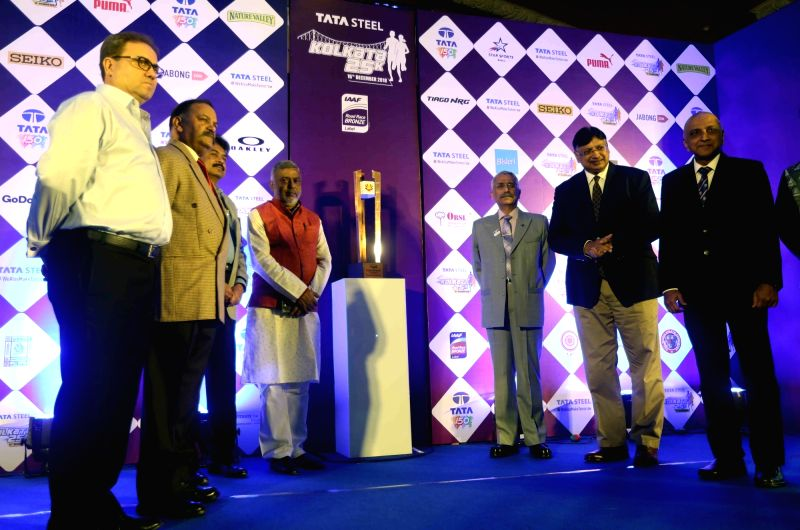 General Officer Commanding-in-chief of Eastern Command Lieutenant General MM Naravane along with other Amy officials during the inaugural of Vijay Diwas Trophy in conjunction with Tata Steel ...