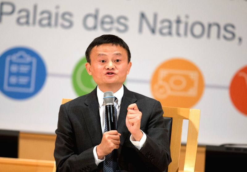 GENEVA, April 25, 2017 - Jack Ma, chairman of Alibaba and special advisor of the UN Conference on Trade and Development (UNCTAD) on youth entrepreneurship and small business, attends a high level ...