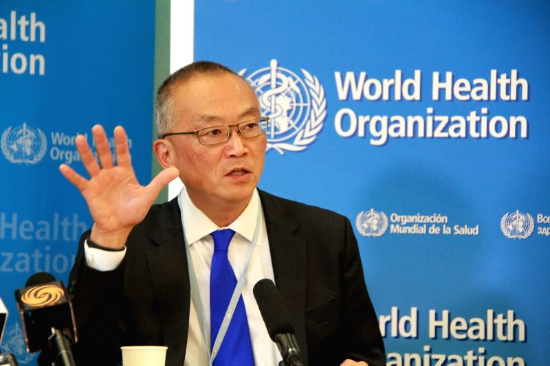 Keiji Fukuda, assistant director-general for health security of the World Health Organization (WHO), speaks during a press conference at the WHO headquarters in ...