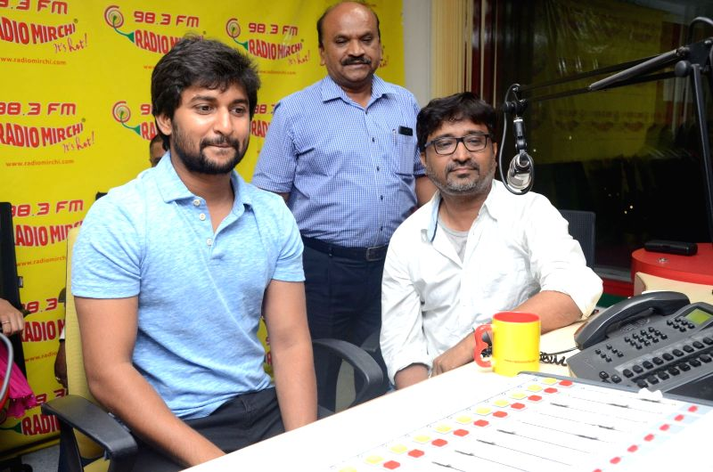 Gentlemen movie song launch at Radio Mirchi in Hyderabad on May 20, 2016.