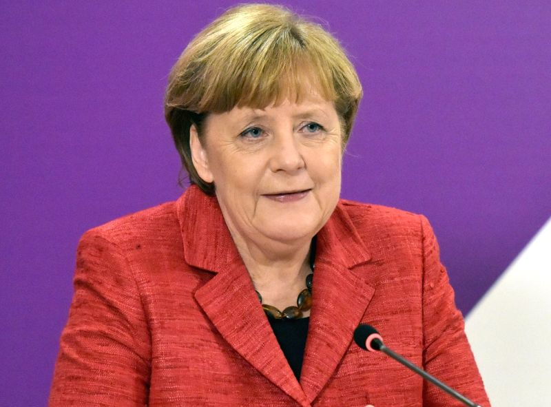 Germany Chancellor Angela Merkel. (File Photo: IANS)