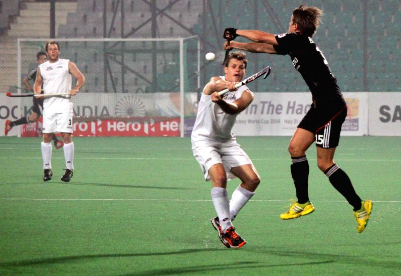 Germany Defeated New Zealand 6 1 During The 39 Hockey World League Final 2014 39