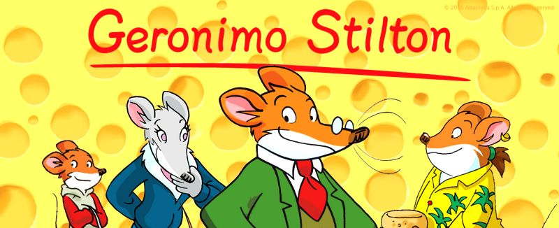 Geronimo Stilton.