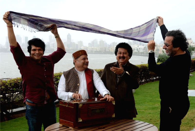 "Ghazal maestro Pankaj Udhas at the launch of 17th edition of ""Khazana - A Festival of Ghazals"" in Mumbai on July 18, 2018."