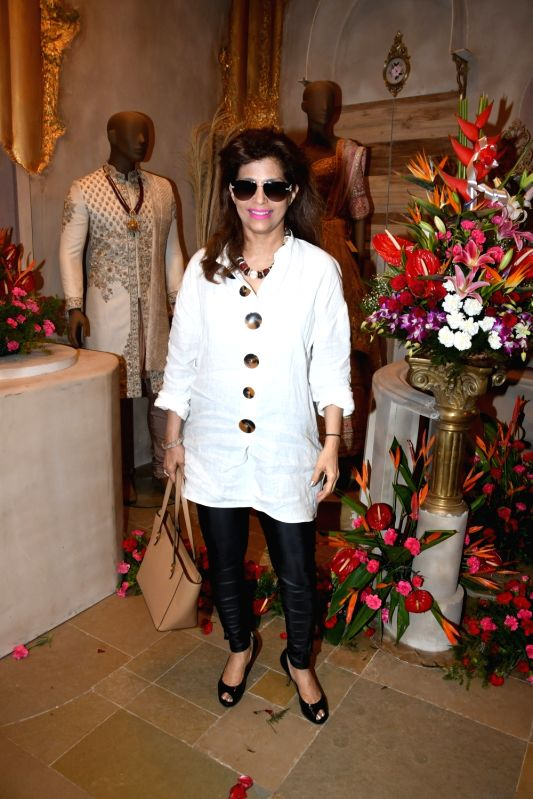 Ghazal singer Bina Aziz at the launch of a designer store, in Mumbai on July 21, 2018.