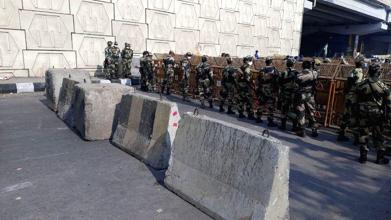 Ghazipur border Farmers protest.