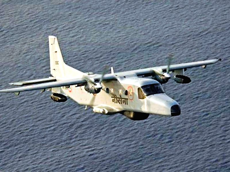 A Dornier surveillance aircraft of the Indian Navy. One of the aircrafts with three personnel on board crashed into the Arabian Sea off the coast of Goa on on March 25, 2015. (File Photo: IANS)