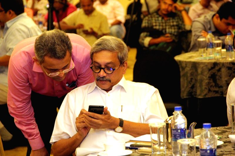 Goa Chief Minister Manohar Parrikar during a workshop on GST in Panaji on May 23, 2017. - Manohar Parrikar