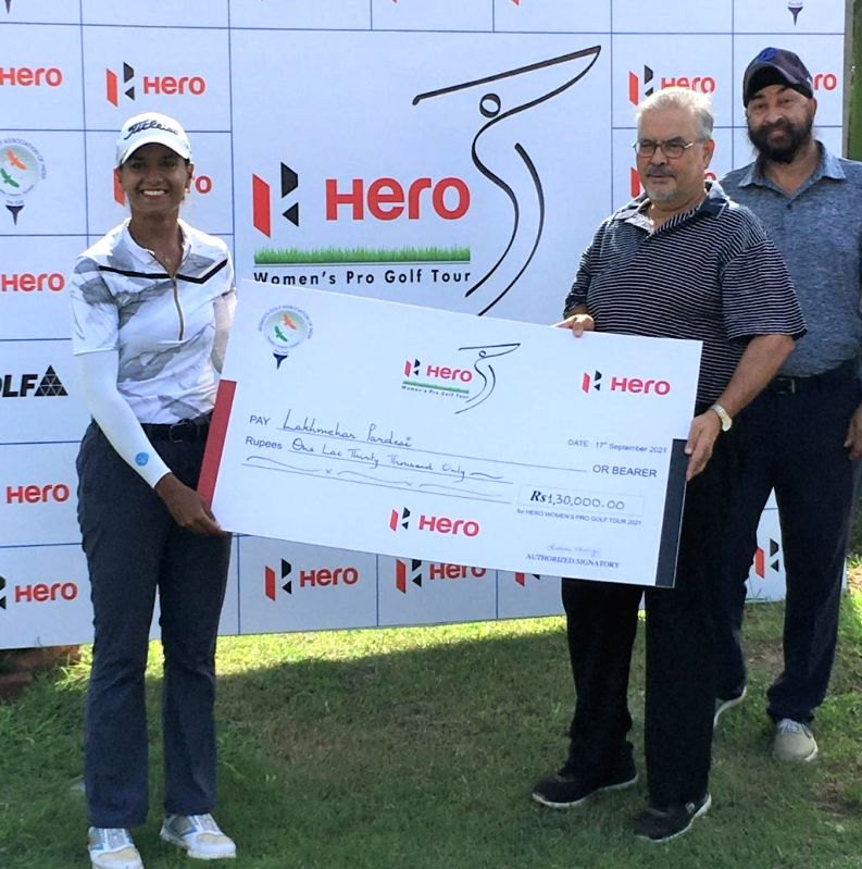 Golfer Lakhmehar wins maiden WPG Tour title.