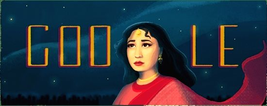 Google Doodle honours Meena Kumari on her 85th birth anniversary.