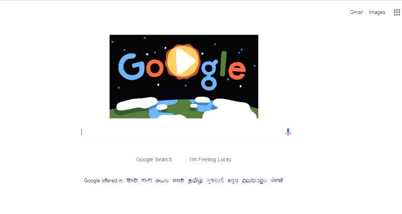 Google Doodle marks 6 unique inhabitants on Earth Day.