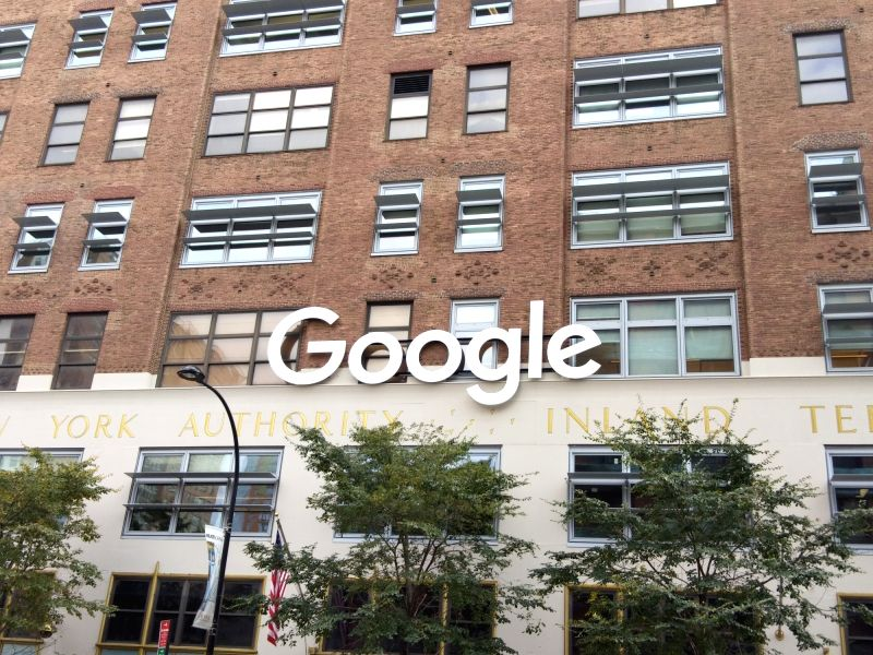 Google's office in New York City. (File Photo: IANS)