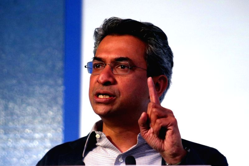 Google South East Asia Vice President and Managing Director Rajan Anandan during a programme organised to announce  new feature in Google Translate in New Delhi on April 25, 2017.