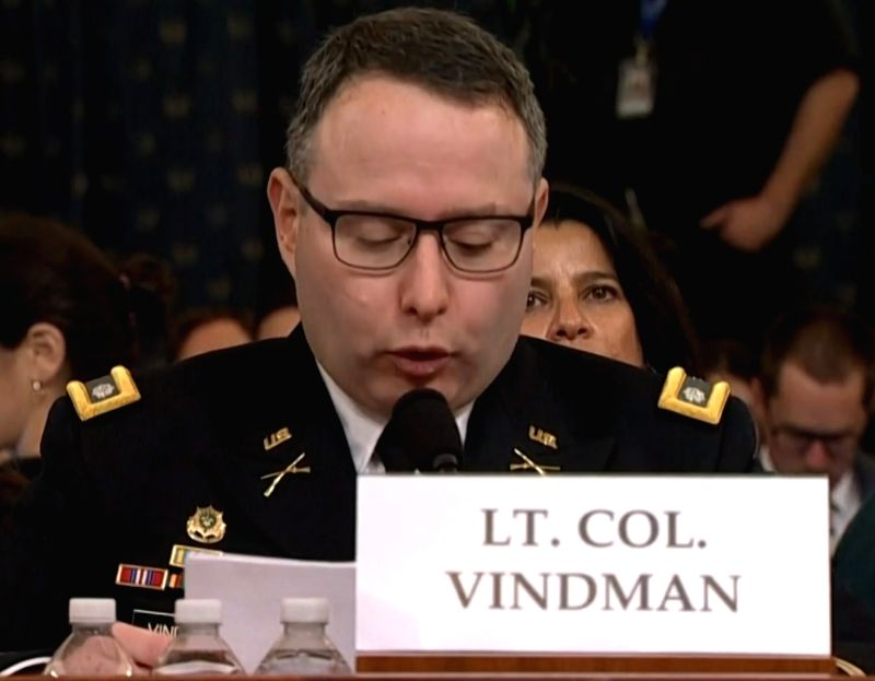 Gordon Sondland, who has been fired as United States ambassador to the European Union, testified during the impeachment inquiry against President Donald Trump. (Photo: House video)