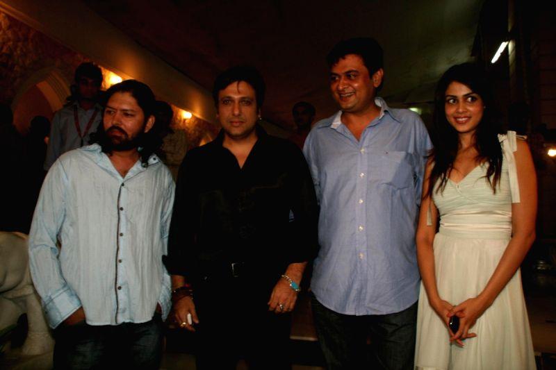 "Govinda and Genelia D'Souza at ""Life Partner"" success bash. Genelia D Souza In Life Partner"