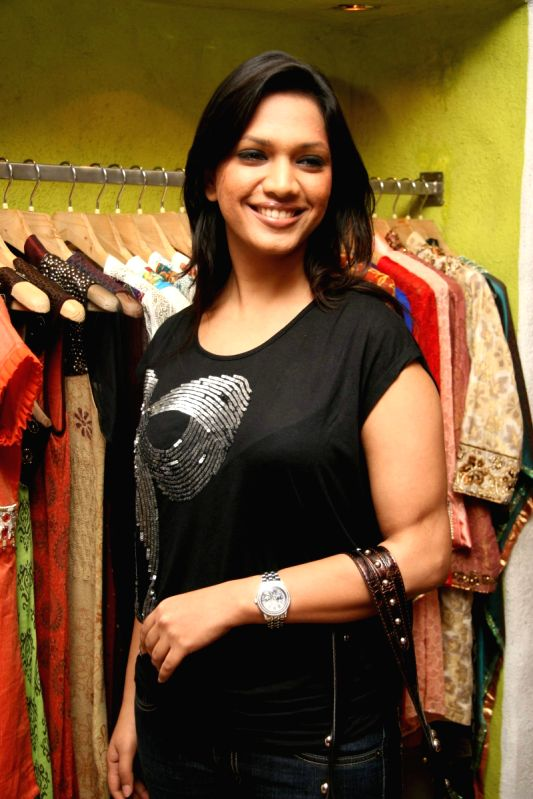 Guest Showcase her New Collection at Cypress in Khar.