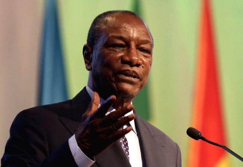 Guinea President Alpha Conde. (File Photo: IANS)