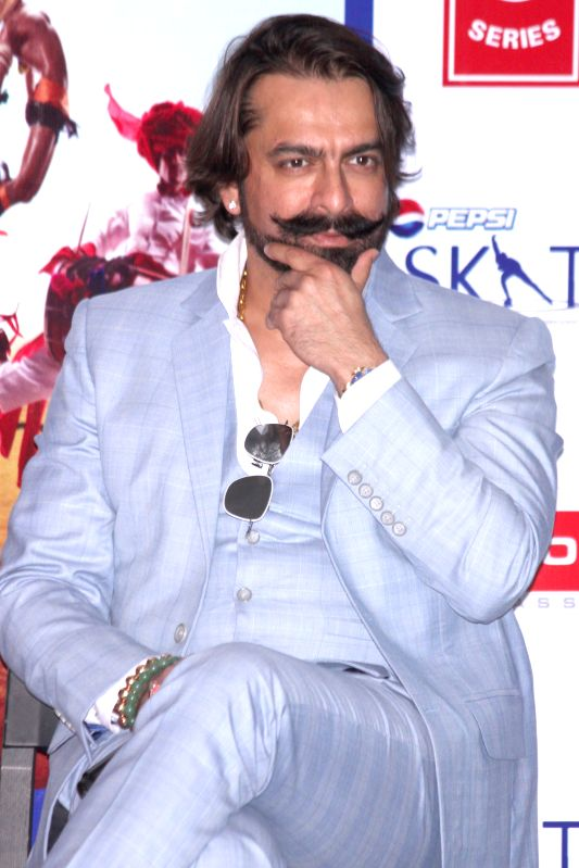 Actor Jas Arora during the promotion of film `Ek Paheli Leela`, in Gurgaon on April 7,2015.