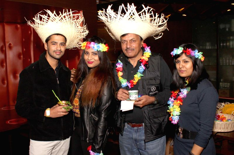 BACARDI Goa hangout party at Hard Rock Cafe,in  Gurgaon, on December 06,2014.