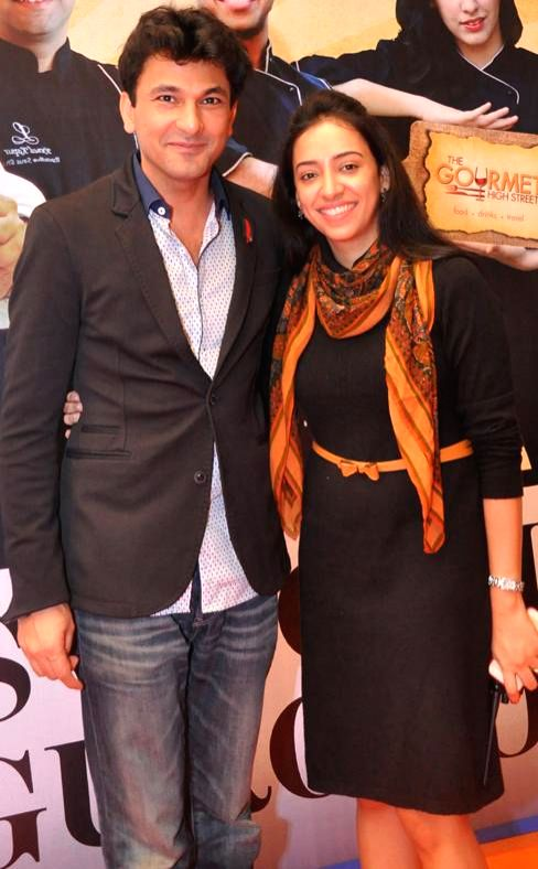 Chef Vikas Khanna at Gourmet High Street - Gurgaon's first International food and Drink festival in Gurgaon, on Dec 5, 2014. - Vikas Khanna