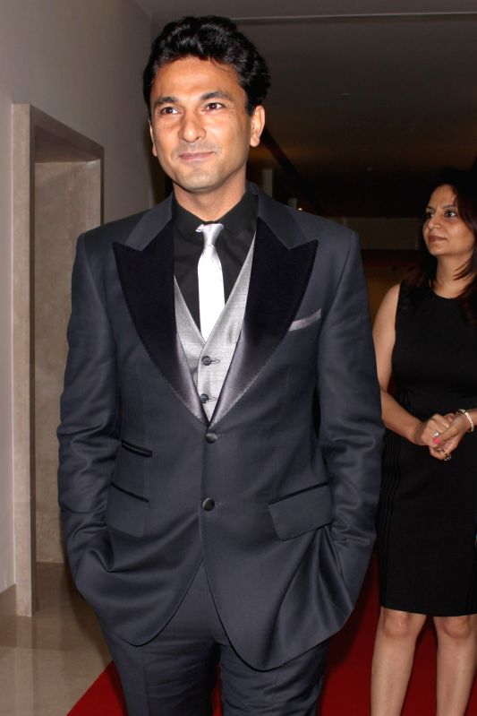 Michelin-starred chef Vikas Khanna during Hindustan Times Delhi`s Most Stylish Awards 2015, held in Gurgaon, on May 2, 2015. - Vikas Khanna
