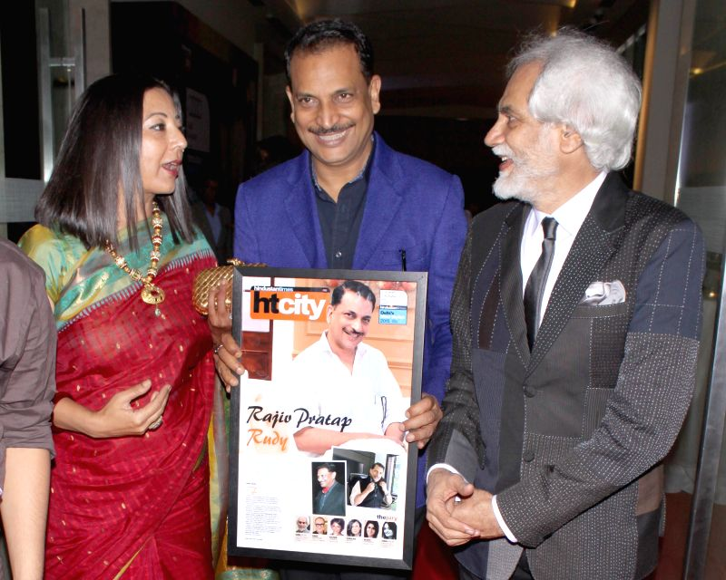 Union Minister Rajiv Pratap Rudy during Hindustan Times Delhi`s Most Stylish Awards 2015, held in Gurgaon, on May 2, 2015. - Rajiv Pratap Rudy