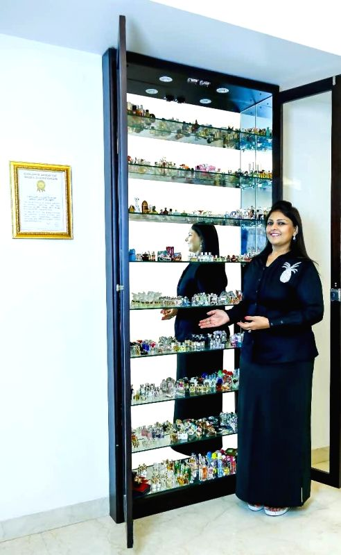 Gurugram woman sets world record for miniature perfume collection