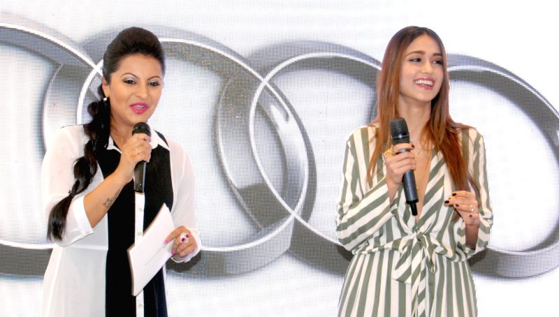 Ileana D'Cruz at the launch of an Audi  showroom in Guwahati, on March 24, 2015.