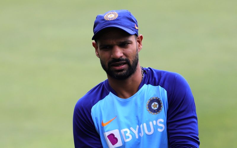 Guwahati: India's Shikhar Dhawan during a practice session ahead of the T20I match between India and Sri Lanka, at Barsapara Cricket Stadium in Guwahati on Jan 4, 2020. (Photo: Surjeet Yadav/IANS)