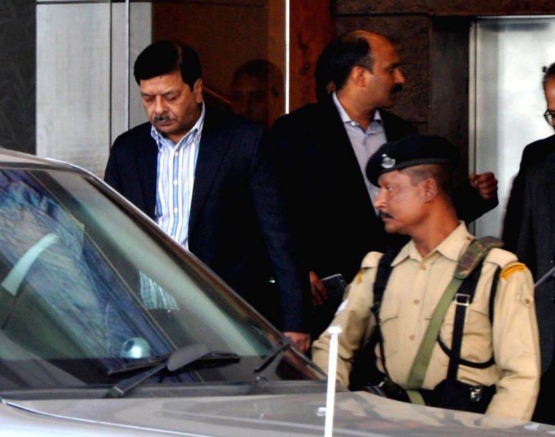 The National Investigating Agency (NIA) DG Sharad Kumar arrives in Guwahati on Jan. 6, 2014. - Sharad Kumar