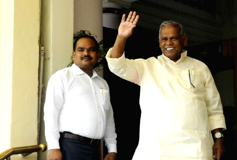 HAM leader Jitan Ram Manjhi at Bihar Assembly in Patna on Aug 2, 2016.