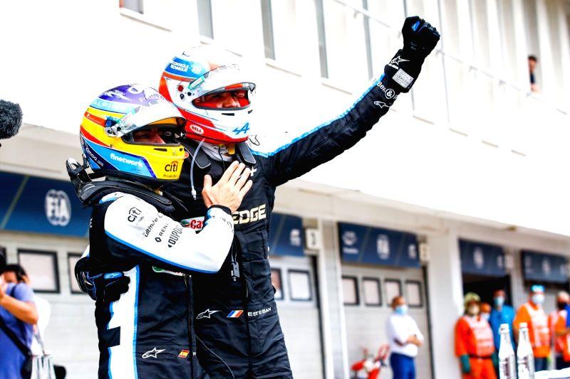 Hamilton retakes F1 lead as Ocon takes shock Hungarian GP win.