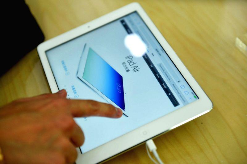 iPad (Image Source: Xinhua/IANS/Long Wei)