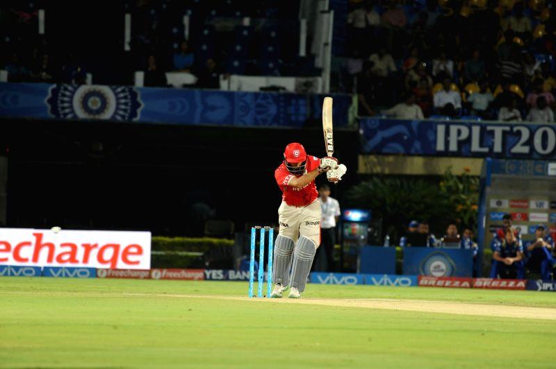 Hashim Amla of Kings XI Punjab in action during an IPL match between Mumbai Indians and Kings XI Punjab at Dr YS Rajasekhara Reddy ACA-VDCA Cricket Stadium in Visakhapatnam on May 13, ... - Rajasekhara Reddy A